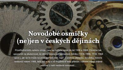 Spuštění nového tematického webu k letům 1998 a 2008