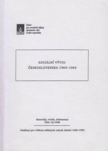 Sociální vývoj Československa 1969–1989