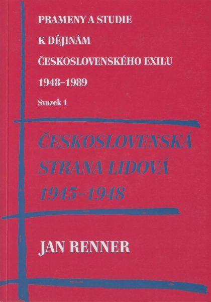 Československá strana lidová 1945–1948