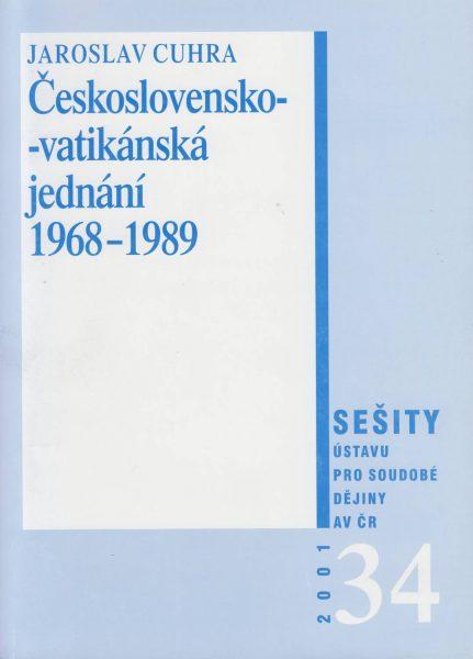Československo-vatikánská jednání 1968–1989