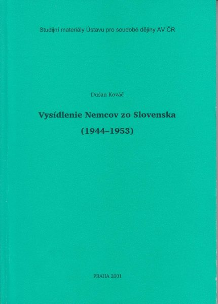 Vysídlenie Nemcov zo Slovenska 1944–1953