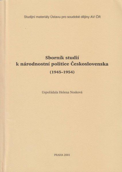Sborník studií k národnostní politice Československa 1945–1954