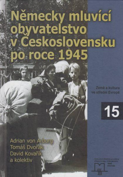 Německy mluvící obyvatelstvo vČeskoslovensku po roce 1945