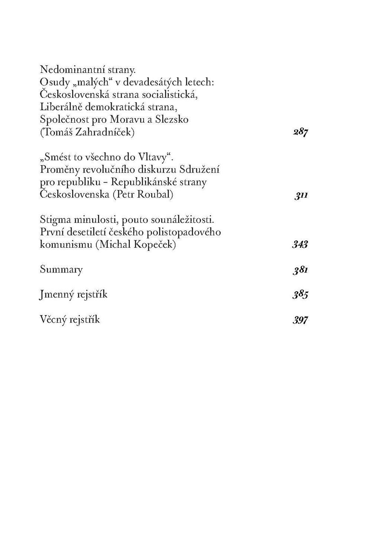 Obsah 2