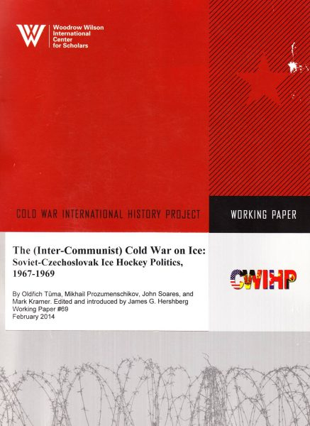 The (Inter-Communist) Cold War on Ice. Soviet-Czechoslovak ice hockey politics, 1967–1969