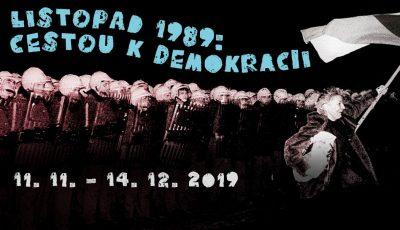 Výstava: Listopad 89. Cestou k demokracii