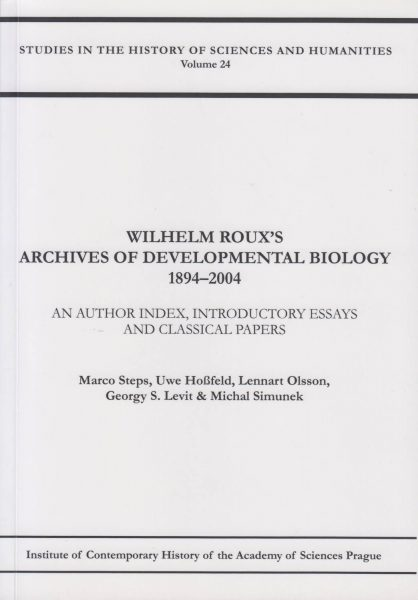 Wilhelm Roux's Archives of Developmental Biology 1894–2004