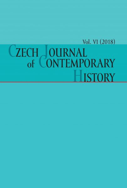 Czech Journal of Contemporary History VI / 2018