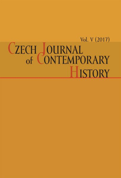 Czech Journal of Contemporary History V / 2017
