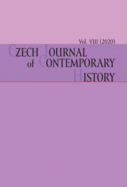 Czech Journal of Contemporary History VIII / 2020