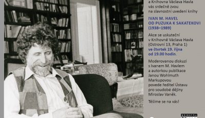 Ivan M. Havel: Od Puzuka k Sakatekovi (1938-1989)