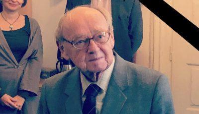 Zemřel emeritní pracovník našeho ústavu dr. Jiří Jindra