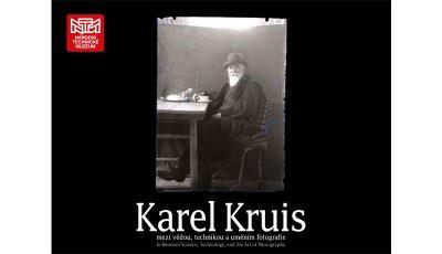 Výstava Karel Kruis - mezi vědou, technikou a uměním fotografie