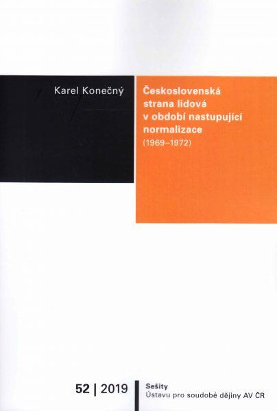 Československá strana lidová v období nastupující normalizace (1969–1972)