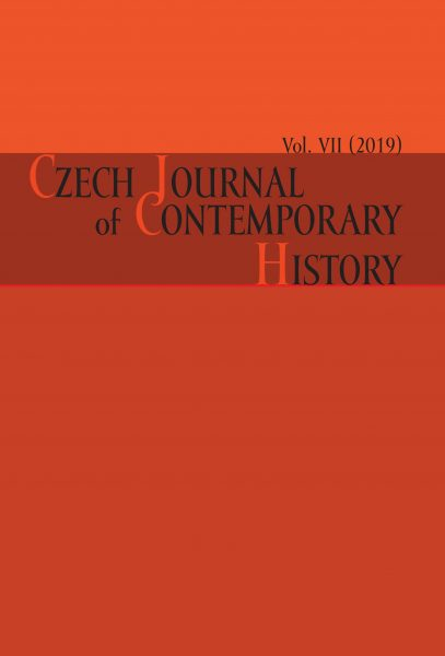Czech Journal of Contemporary History VII / 2019