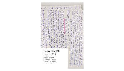 Právě vyšlo: Rudolf Battěk Deník 1989