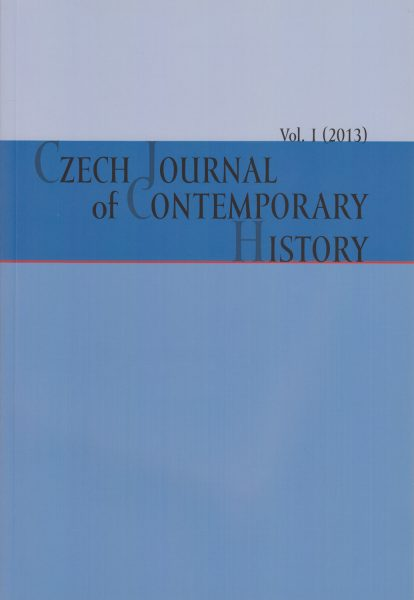 Czech Journal of Contemporary History I / 2013