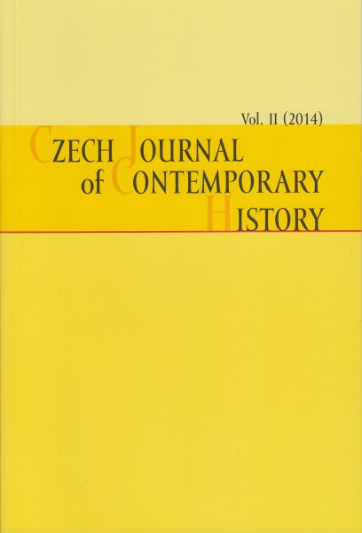 Czech Journal of Contemporary History II / 2014