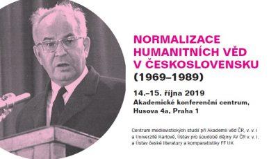 Workshop: Normalizace humanitních věd v Československu