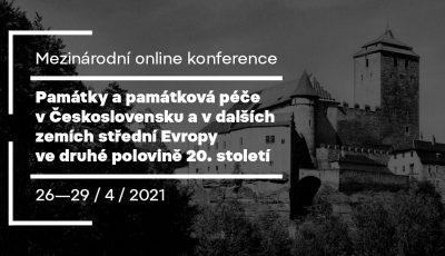 Památky a památková péče v Československu a v zemích stř. Evropy ve 2. pol. 20. stol.