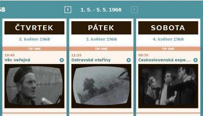TV program 1968
