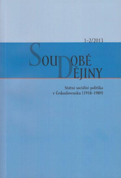Soudobé dějiny 1-2 / 2013