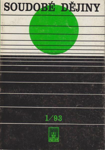 Soudobé dějiny 1 / 1993