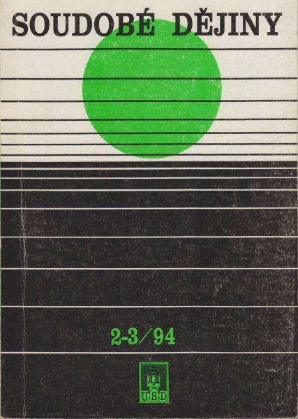 Soudobé dějiny 2-3 / 1994