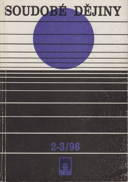 Soudobé dějiny 2-3 / 1996