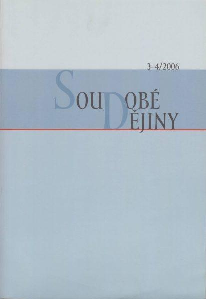 Soudobé dějiny 3-4 / 2006