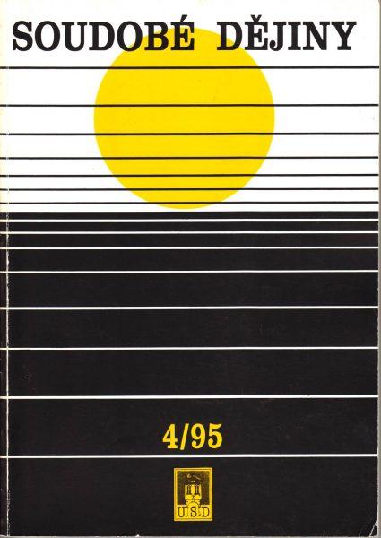Soudobé dějiny 4 / 1995
