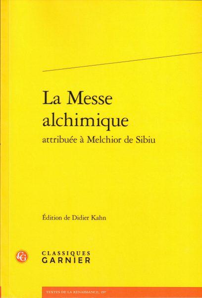 La Messe alchimique attribué à Melchior de Sibiu