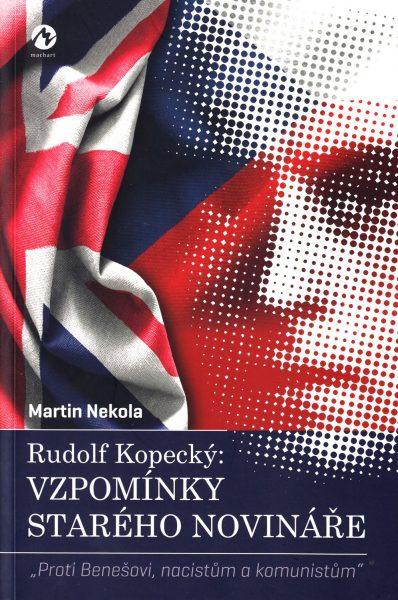 Rudolf Kopecký: Vzpomínky starého novináře :