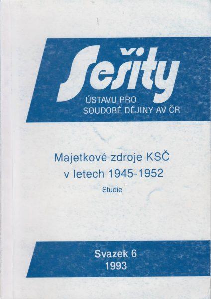 Majetkové zdroje KSČ v letech 1946–1952