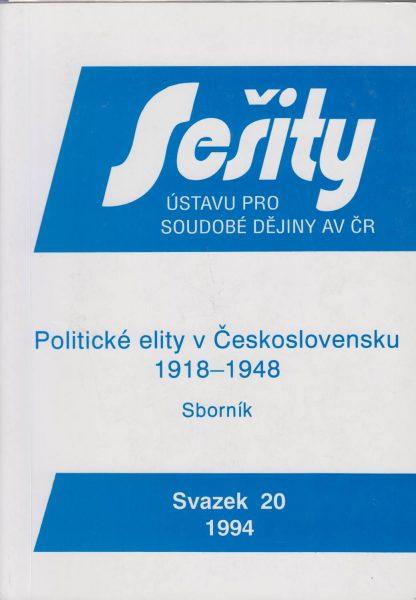 Politické elity v Československu 1918–1948. Sborník studií