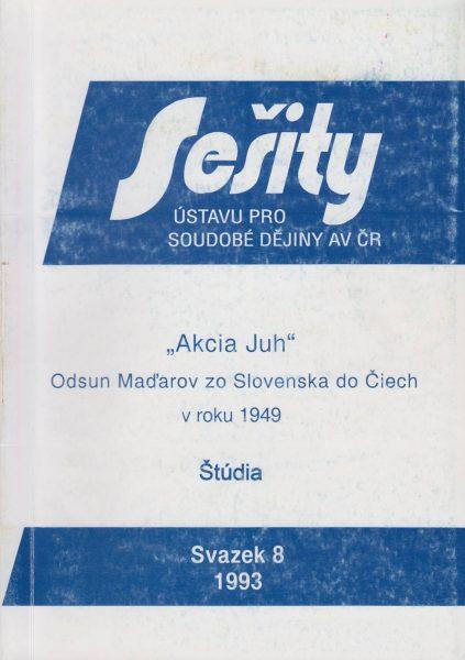 """""""Akcia Juh"""" – odsun Maďarov zo Slovenska do Čiech"""