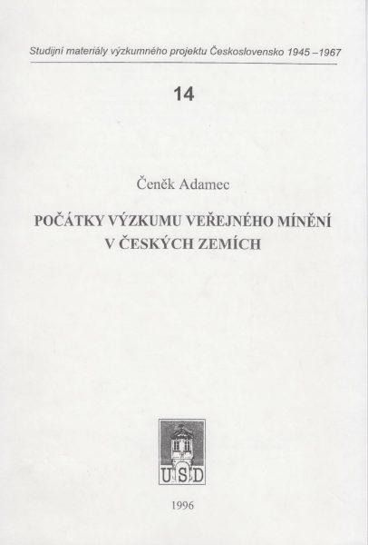 Počátky výzkumu veřejného mínění v českých zemích