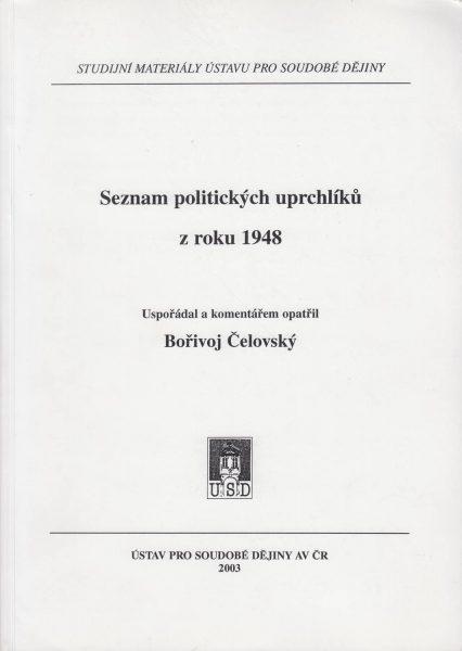 Seznam politických uprchlíků zroku 1948