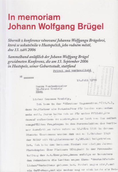 In memoriam Johann Wolfgang Brügel