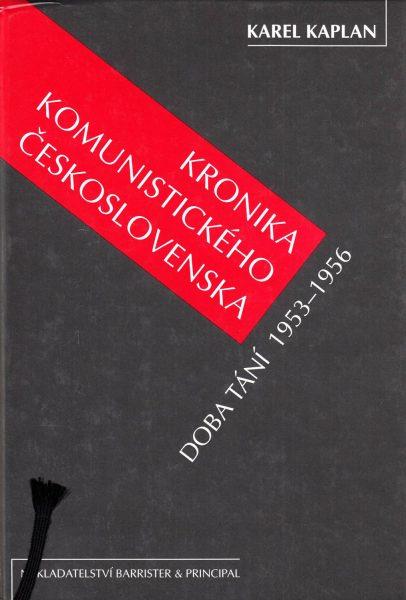 Kronika komunistického Československa. Doba tání 1953–1956