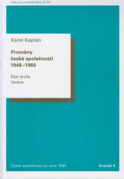Proměny české společnosti 1948–1960. Venkov