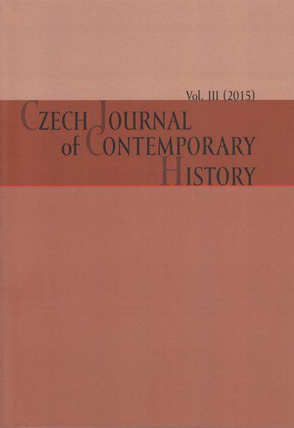 Czech Journal of Contemporary History III / 2015