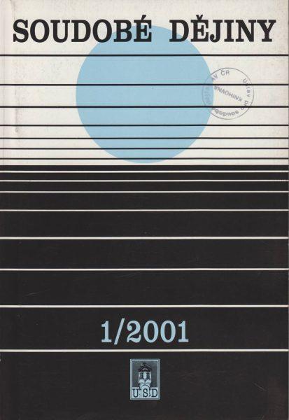 Soudobé dějiny 1 / 2001