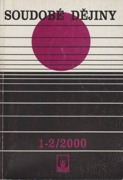 Soudobé dějiny 1-2 / 2000