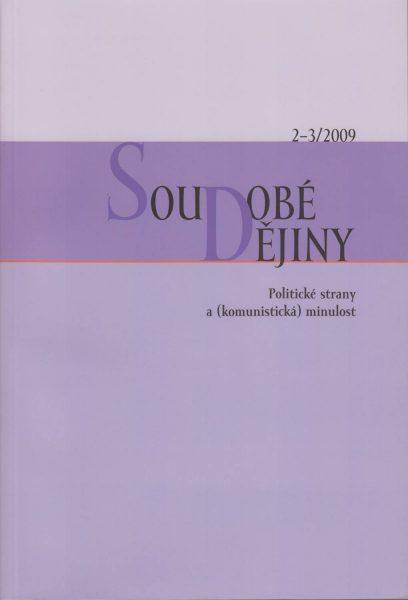Soudobé dějiny 2-3 / 2009