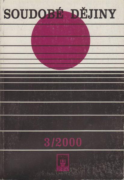 Soudobé dějiny 3 / 2000