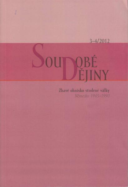 Soudobé dějiny 3-4 / 2012