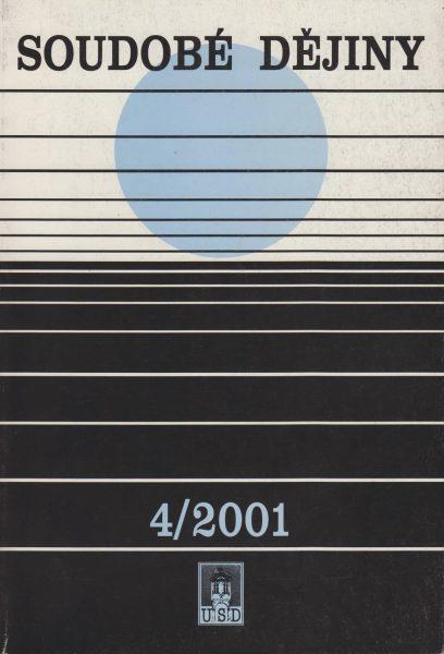 Soudobé dějiny 4 / 2001
