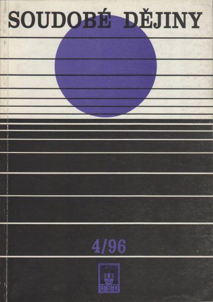 Soudobé dějiny 4 / 1996
