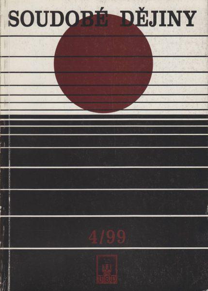 Soudobé dějiny 4 / 1999
